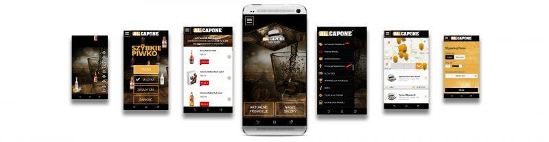 Al.Capone z Tarnowa – aplikacja mobilna na smartfony i strona internetowa