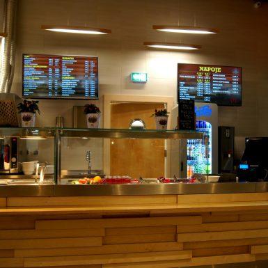 Cyfrowe menu w restauracji Jadło Chłopskie w Krakowie